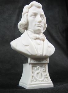 "Marmorbüste ""F. Chopin"""
