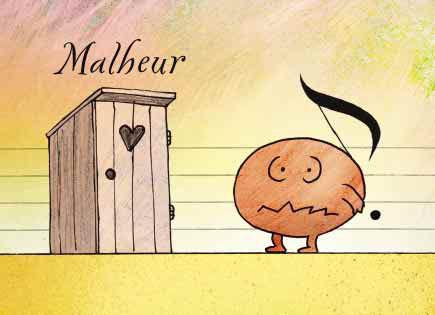 """Conbrio Karte """"Malheur"""""""