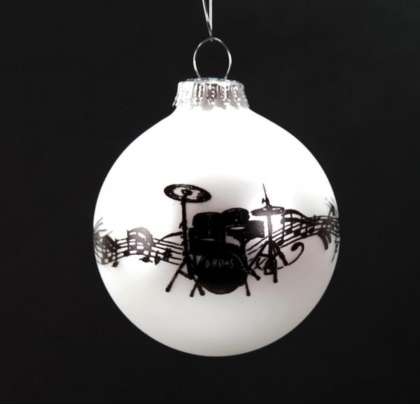 """Weihnachtskugel """"Drums"""""""