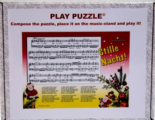 "Play-Puzzle ""Stille Nacht"" for piano"