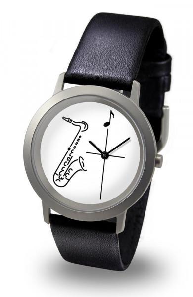 "Armbanduhr ""Saxophon"" - Palladium Line"