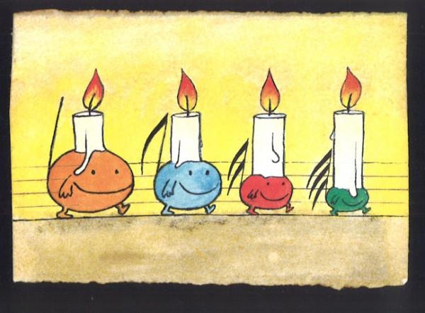 """Conbrio Karte """"Advent"""""""