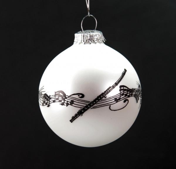 """Weihnachtskugel """"Querflöte"""""""