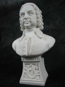 """Marmorbüste """"J. S. Bach"""""""
