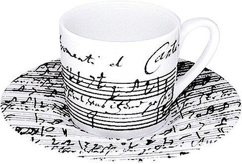 """Espressotasse """"Bachs Kaffekantate"""""""
