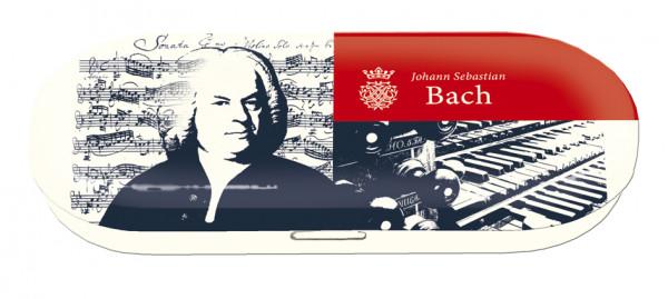 """Utensilien-/Brillenetui mit Dekor """"Bach"""""""