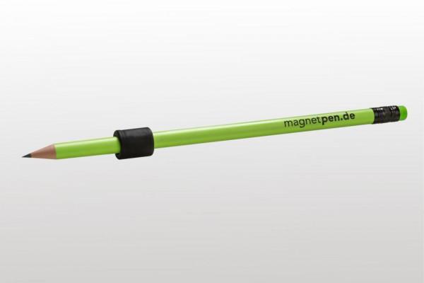 Art of Music Magnet-Pen Bleistift mit Magnet - neongrün