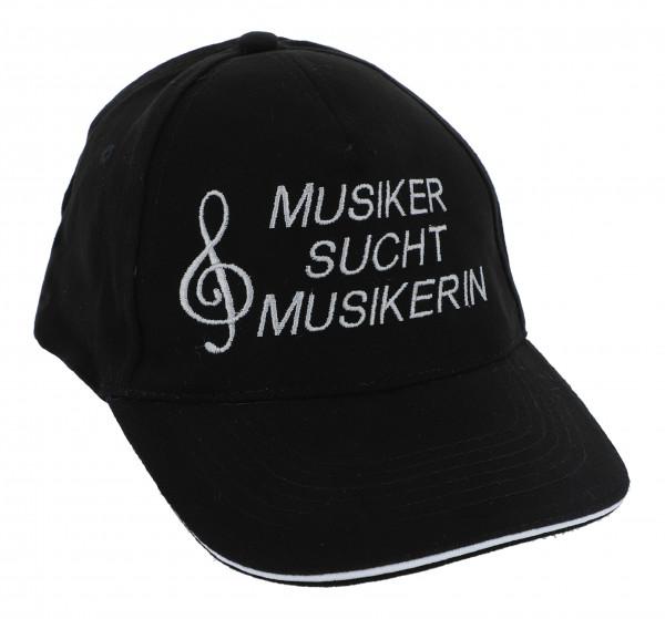 Baseball-Cap - Musiker sucht Musikerin