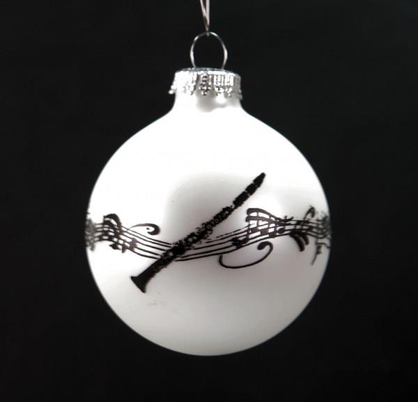 """Weihnachtskugel """"Klarinette"""""""