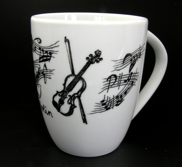 """Henkelbecher """"Violine"""""""