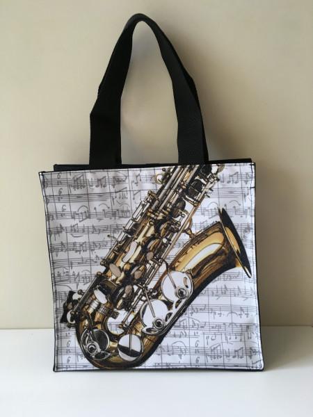 """Umhängetasche """"Saxophon"""""""