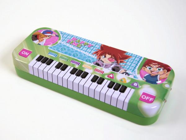 Stiftebox Keyboard - grün