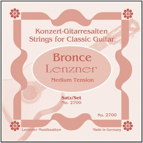 Lenzner Bronce 2700 - E6 - Saite Konzertgitarre