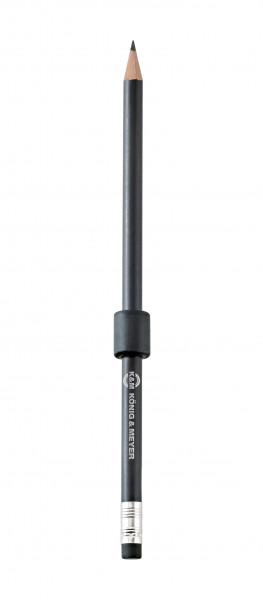 Haltemagnet mit Bleistift - schwarz 16099