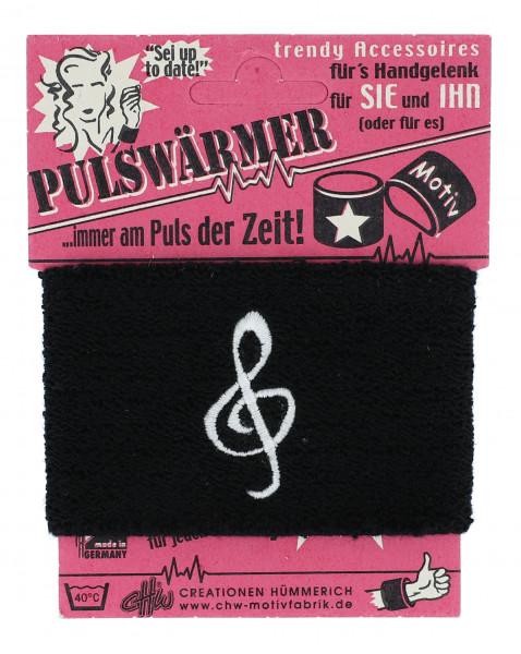 """Pulswärmer """"Violinschlüssel"""""""