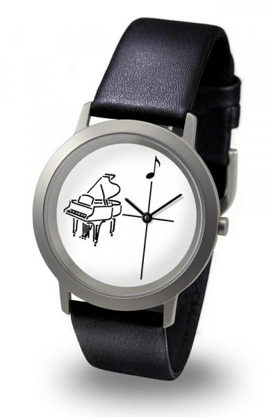 """Armbanduhr """"Flügel"""" - Palladium Line"""