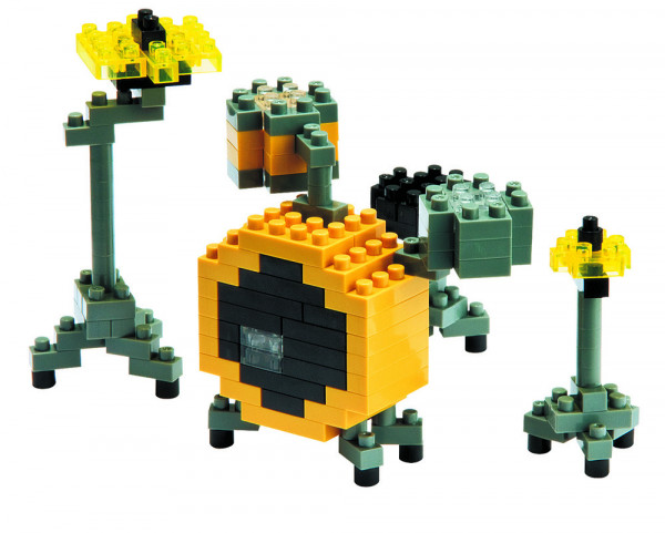 "NanoBlock Mini-Collection ""Schlagzeug"""