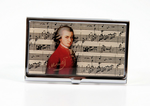 Visitenkartenetui Mozart