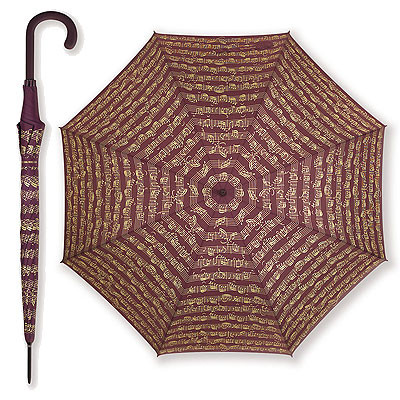 Vienna World Regenschirm - bordeaux