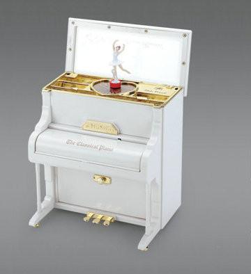 """Kunststoff-Spieluhr """"Klavier"""""""