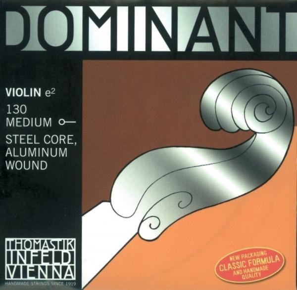 Thomastik Dominant Violinensaite E - Einzelsaite - Kugel 4/4 130
