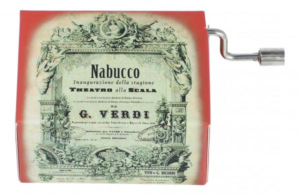 """Spieluhr """"Gefangenenchor"""" aus Nabucco"""
