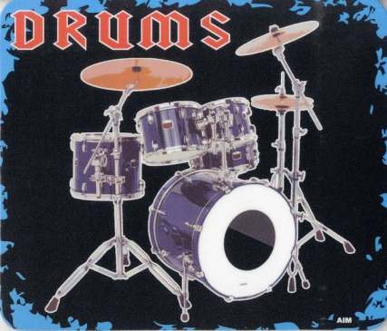"Mousepad ""Drums"""
