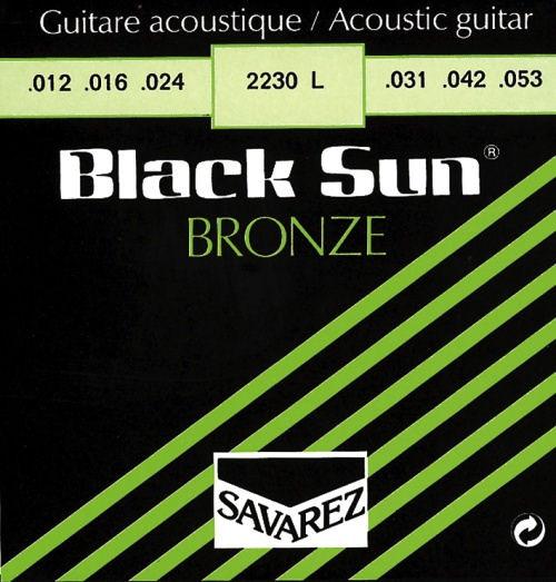 Savarez Black Sun Bronze 2230 XL - Saiten Westerngitarre