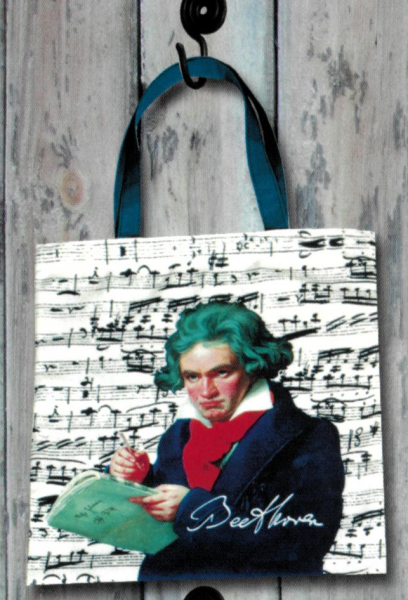 """Stofftasche """"Beethoven"""""""