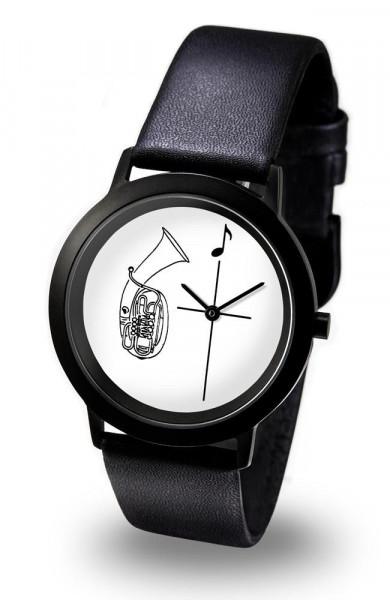 "Armbanduhr ""Tenorhorn - Black Line"