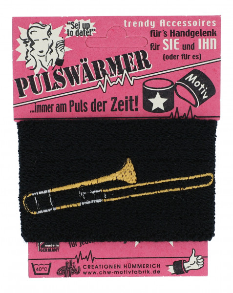 "Pulswärmer ""Posaune"""
