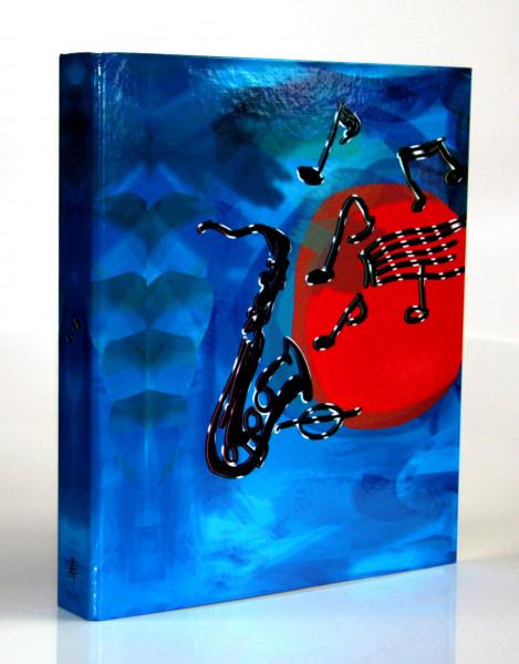 "Ringbuchordner ""Saxophon"" - A4"