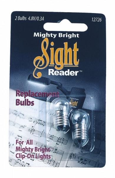 """Ersatzbirnen für Leuchte """"Mighty Bright"""""""
