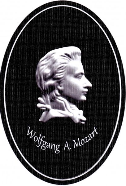 """Magnet mit Flaschenöffnerfunktion - Dekor """"Mozart"""""""