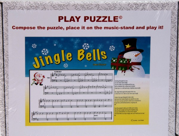 "Play-Puzzle ""Jingle Bells"" for piano"