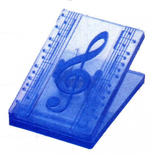 """Klammer """"Violinschlüssel"""" blau"""
