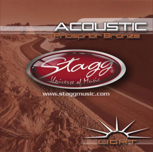 Stagg AC-1254-PH Phosphor Bronze - Saiten Westerngitarre