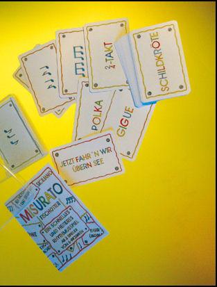 Misurato Kartenspiel