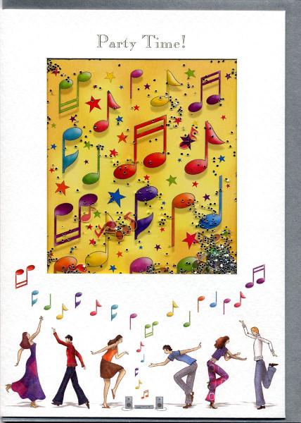"Kunstkarte ""Party Time"""