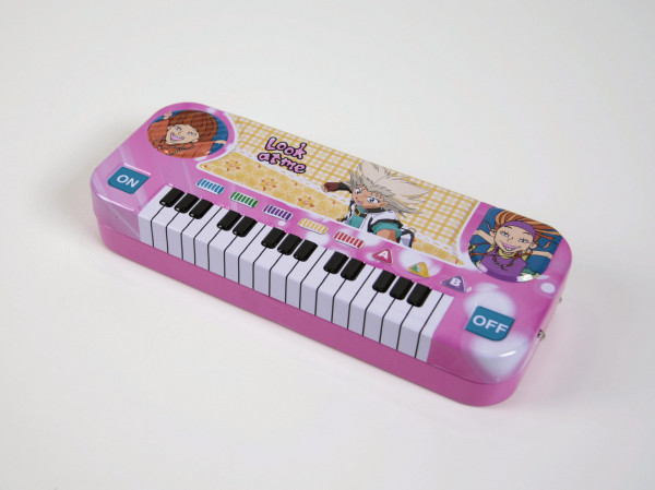 Stiftebox Keyboard - pink
