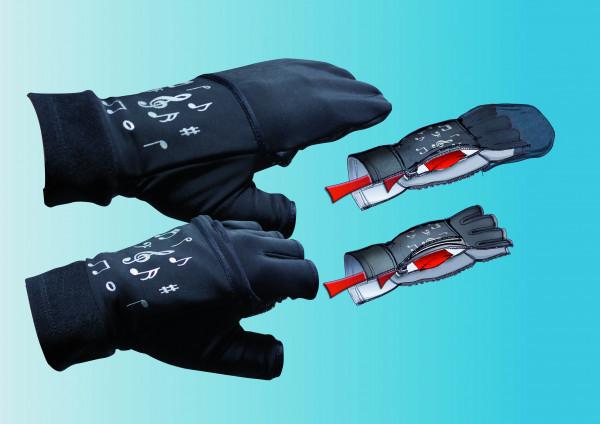 Chiba Thermo Overflap Handschuhe Kurzfinger