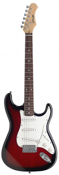 Stagg E-Gitarre S300-RDS
