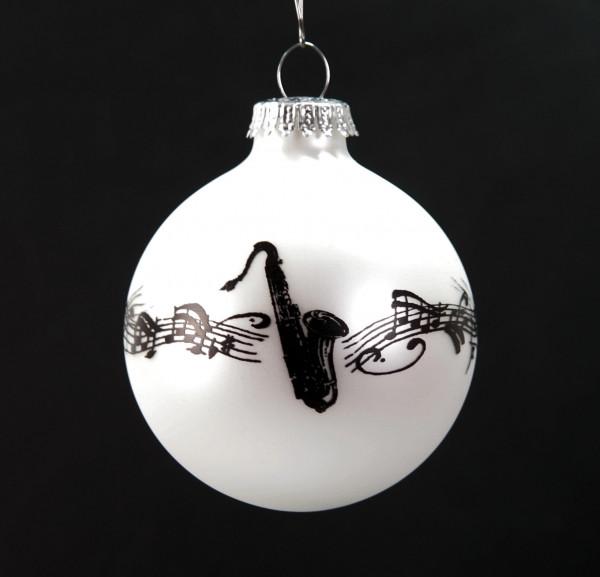 """Weihnachtskugel """"Saxophon"""""""