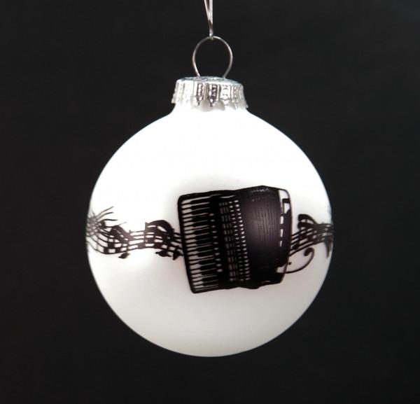 "Weihnachtskugel ""Akkordeon"""