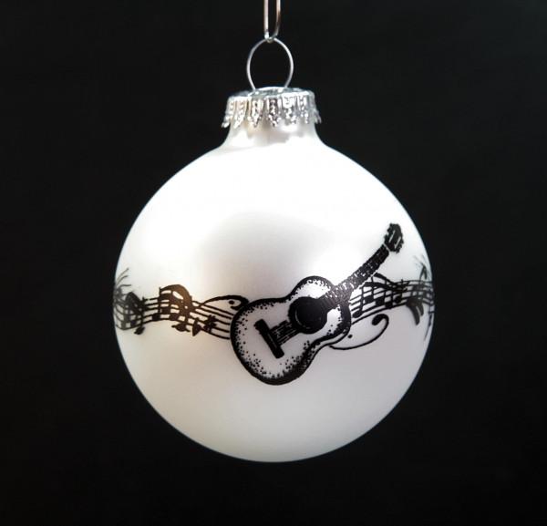 """Weihnachtskugel """"Konzertgitarre"""""""