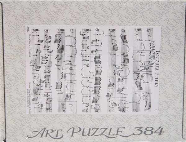 """Puzzle """"Toccata prima"""" v. Frescobaldi"""