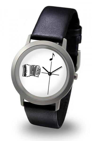 "Armbanduhr ""Akkordeon"" - Palladium Line"