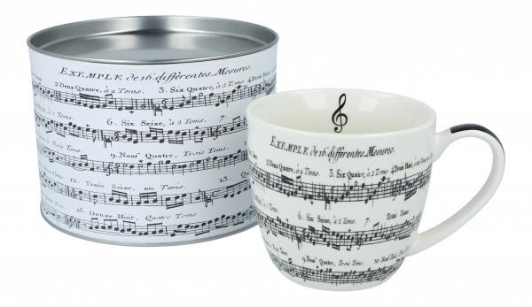 "Big Mug ""Adagio"" in Geschenkbox"