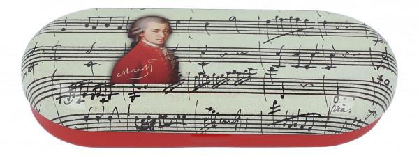 """Brillenetui mit Dekor """"Mozart"""""""