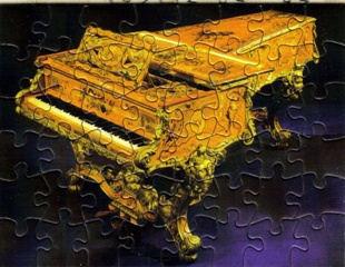 """Mini Puzzle """"Piano"""""""
